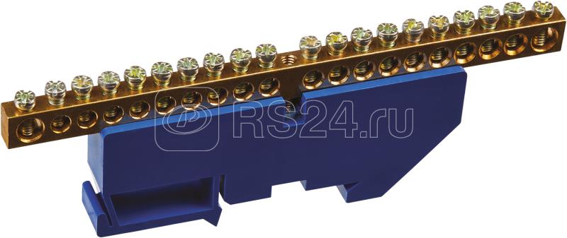 Шина нулевая на DIN-изол. 6х9-20 Navigator 71156 купить в интернет-магазине RS24