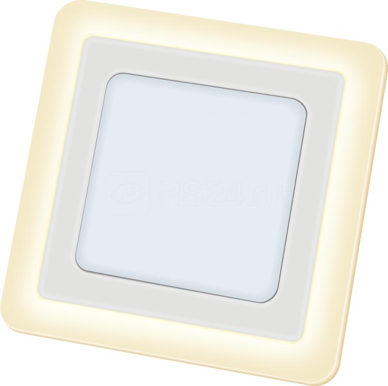 Светильник 71 826 NLP-SC2-12+3W-WWW-LED(192х192) LED 12Вт 4000К IP20 Navigator 71826 купить в интернет-магазине RS24