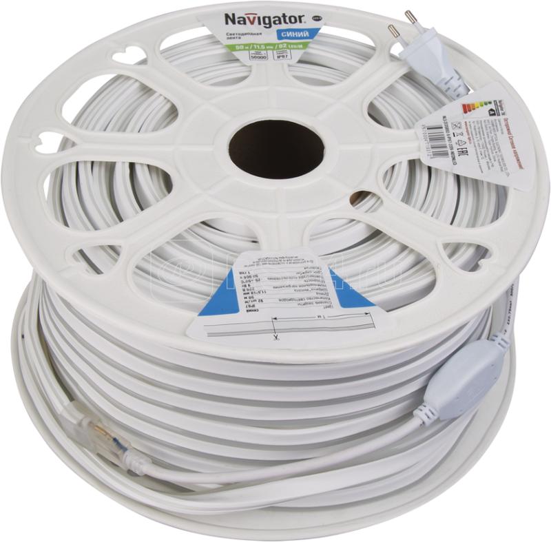 Лента светодиодная 71 931 NLS-2835B92-9-IP67-220V-NEONLED R20 (уп.20м) Navigator 71931 купить в интернет-магазине RS24