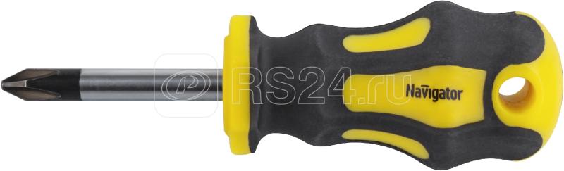 Отвертка Navigator 82 357 NHT-Ot01-PH2-38 (обычная) Navigator 82357 купить в интернет-магазине RS24