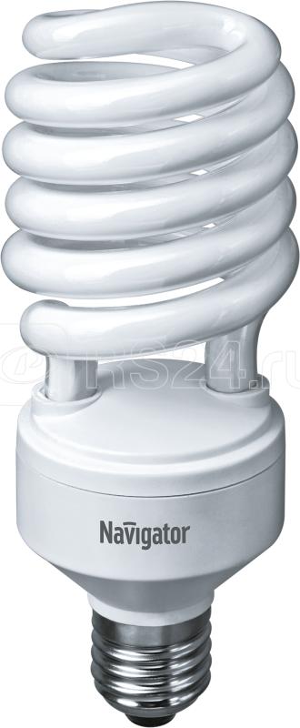 Лампа люминесцентная компакт. 94 077 NCL-SH-45-840-E27 45Вт E27 спиральная 4000К Navigator 94077 купить в интернет-магазине RS24