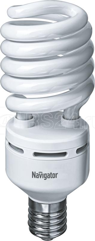 Лампа люминесцентная компакт. 94 080 NCL-SH-85-840-E40 85Вт E40 спиральная 4000К Navigator 94080 купить в интернет-магазине RS24