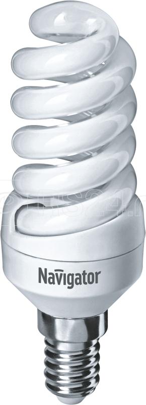 Лампа люминесцентная компакт. 94 087 NCL-SF10-11-827-E14 11Вт E14 спиральная 2700К Navigator 94087 купить в интернет-магазине RS24