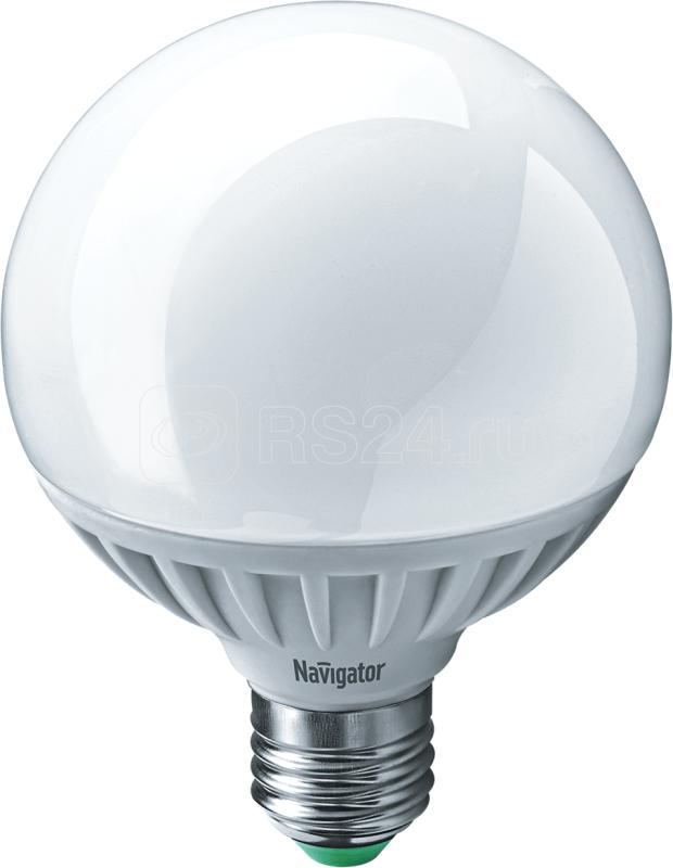 Лампа светодиодная 94 147 NLL-G95-12-230-2.7K-E27 12Вт шар 2700К тепл. бел. E27 1000лм 150-250В Navigator 94147 купить в интернет-магазине RS24