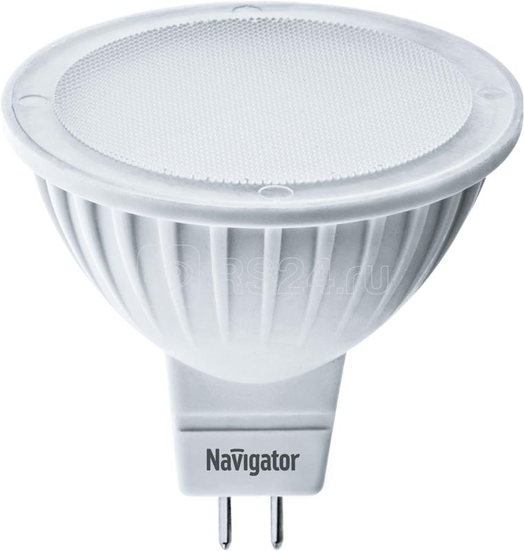 Лампа светодиодная 94 382 NLL-MR16-5-230-6.5K-GU5.3 5Вт 6500К холод. бел. GU5.3 400лм 170-260В Navigator 94382 купить в интернет-магазине RS24