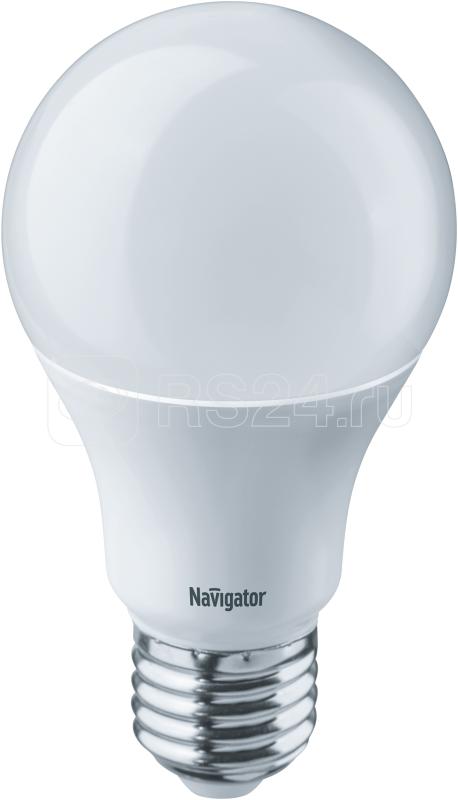 Лампа светодиодная 94 388 NLL-A60-10-230-4K-E27 10Вт грушевидная 4000К бел. E27 820лм 170-260В Navigator 94388 купить в интернет-магазине RS24