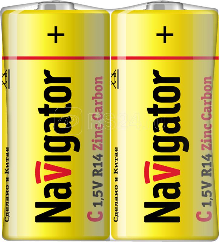 Элемент питания солевой 94 760 NBT-NS-R14-SH2 (шринка 2шт) Navigator 94760 купить в интернет-магазине RS24