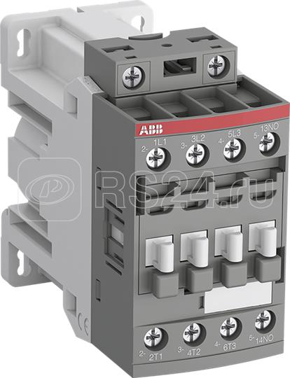 Контактор AF12Z-30-01-30 с катушкой управления 24 В DC для подключения к ПЛК ABB 1SBL156001R3001 купить в интернет-магазине RS24