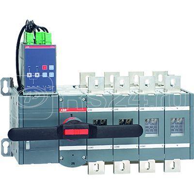 Рубильник реверсивный 4п OTM630E4C2D230C с блоком АВР OMD200 ABB 1SCA108434R1001 купить в интернет-магазине RS24