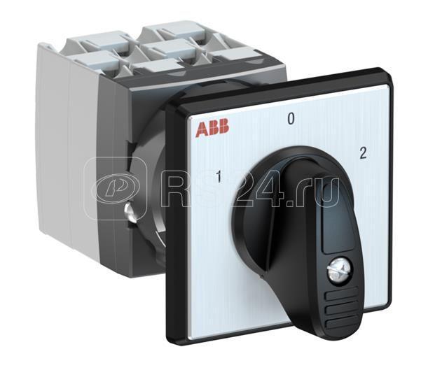 Переключатель кулачковый OC25G04PNBN00NU2 (1-0-2) ABB 1SCA126498R1001 купить в интернет-магазине RS24