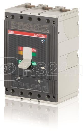 Выключатель автоматический 3п T4N 250 PR222DS/P-LSI In=250 3p F F ABB 1SDA054005R1 купить в интернет-магазине RS24