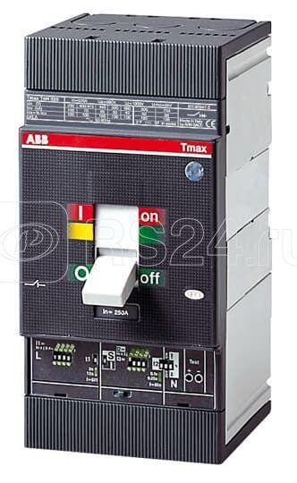 Выключатель автоматический 4п T4S 250 TMA 160-1600 4p F F InN=100проц.In ABB 1SDA054276R1 купить в интернет-магазине RS24