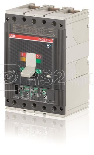Выключатель автоматический 3п T5L 630 PR221DS-LS/I In=630 3p F F ABB 1SDA054420R1 купить в интернет-магазине RS24