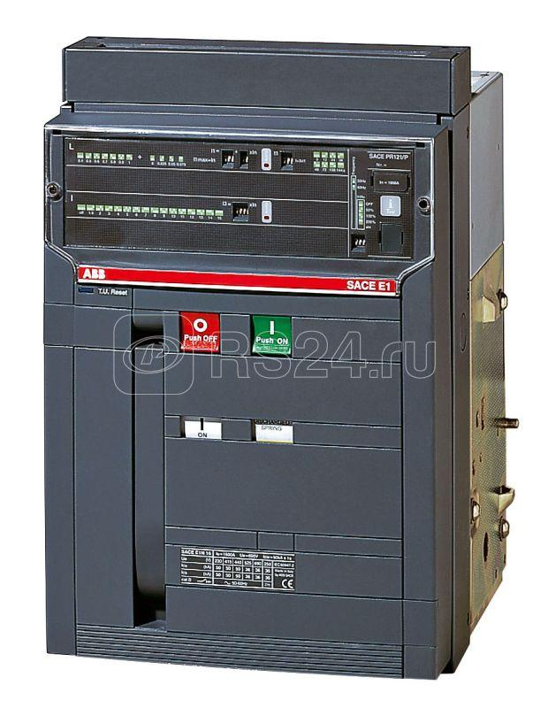 Выключатель автоматический 4п E1N 1250 PR122/P-LI In=1250А 4p F HR стац. ABB 1SDA055739R1 купить в интернет-магазине RS24