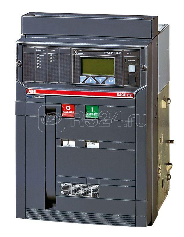 Выключатель автоматический 4п E2S 1600 PR122/P-LSIG In=1600А 4p F HR стац. ABB 1SDA055997R1 купить в интернет-магазине RS24