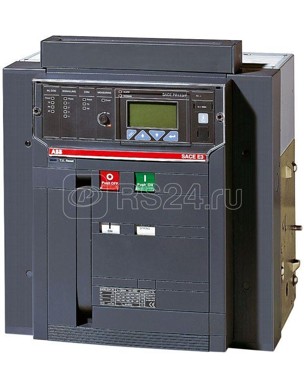 Выключатель автоматический 3п E3S 1250 PR123/P-LSIG In=1250А 3p F HR стац. ABB 1SDA056183R1 купить в интернет-магазине RS24