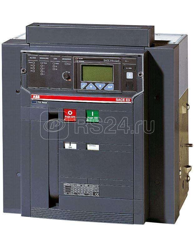 Выключатель автоматический 4п E3V 1250 PR121/P-LI In=1250А 4p W MP выкатн. ABB 1SDA056584R1 купить в интернет-магазине RS24