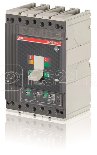 Выключатель автоматический 4п T4H 250 PR223DS In=160А 4p F F ABB 1SDA059508R1 купить в интернет-магазине RS24