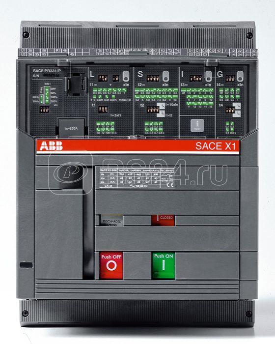 Выключатель автоматический 4п X1B 630 PR332/P LI In=630А 4p F F стац. ABB 1SDA062008R1 купить в интернет-магазине RS24