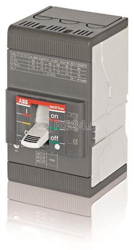 Выключатель авт. 3п XT1B 160 TMD63-630 63А 3p F F ABB 1SDA066805R1
