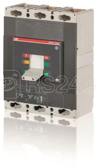 Выключатель автоматический 3п T6V 800 PR221DS-I In=800 3p F F ABB 1SDA069429R1 купить в интернет-магазине RS24