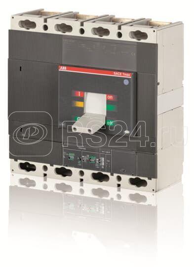 Выключатель автоматический 4п T6V 800 PR221DS-LS/I In=800 4p F F ABB 1SDA069432R1 купить в интернет-магазине RS24