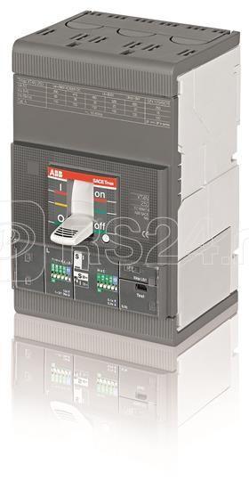 Выключатель автоматический 3п XT4H 160 Ekip E-LSIG In=160А 3p F F ABB 1SDA069624R1 купить в интернет-магазине RS24