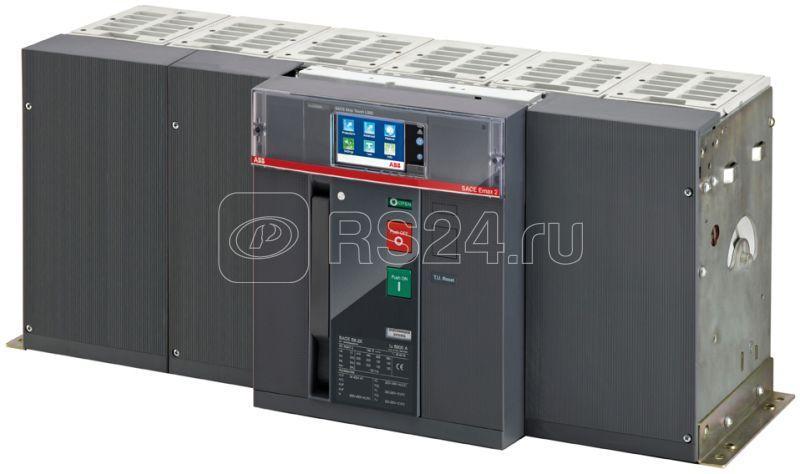 Выключатель автоматический 4п E6.2V/f 6300 Ekip Touch LI 4p FHR стац. ABB 1SDA072024R1 купить в интернет-магазине RS24