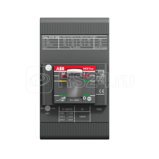 Выключатель автоматический 3п XT1C 160 TMD 20-450 3p F F ABB 1SDA080826R1 купить в интернет-магазине RS24