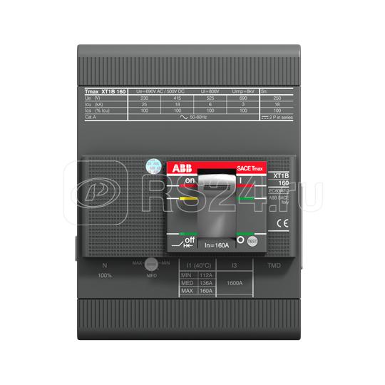 Выключатель автоматический 4п XT1H 160 TMD 40-450 4p F F ABB 1SDA080854R1 купить в интернет-магазине RS24