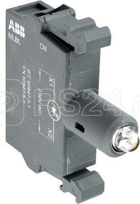 Патрон MLBL-08L со встр. светодиод. син. 380В AC ABB 1SFA611621R1084 купить в интернет-магазине RS24