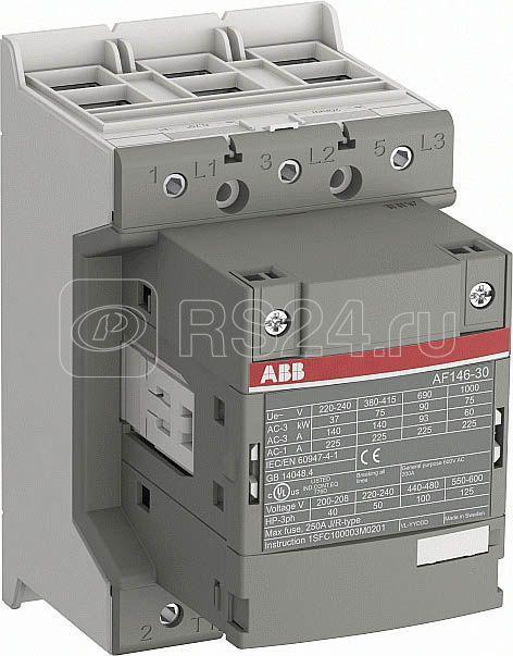 Контактор AF140-30-00-12 140А AC3 катушка 48-130В AC/DC ABB 1SFL447001R1200 купить в интернет-магазине RS24