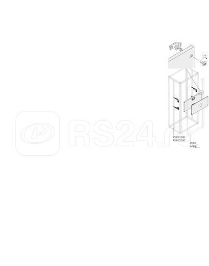 Комплект верт. 4 XT2 3/4P FIX W=800мм ABB 1STQ007924A0000 купить в интернет-магазине RS24