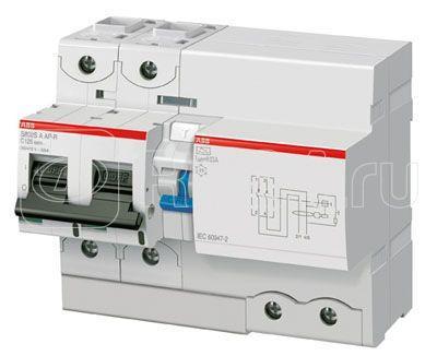 Выключатель автоматический дифференциального тока 2п C 125А 1000мА тип A-S 25кА DS802S ABB 2CCC862006R0844 купить в интернет-магазине RS24