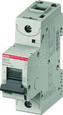 Выключатель автоматический модульный 1п C 100А 50кА S801S C100 ABB 2CCS861001R0824 купить в интернет-магазине RS24