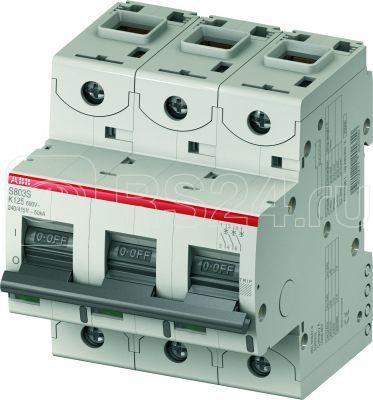 Выключатель автоматический модульный 3п K 100А 25кА S803C K100 ABB 2CCS883001R0637 купить в интернет-магазине RS24