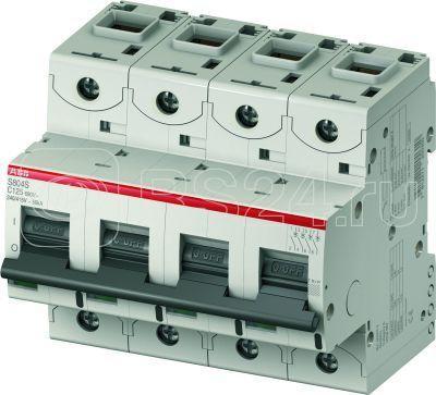 Выключатель автоматический модульный 4п C 80А 15кА S804C C80 ABB 2CCS884001R0804 купить в интернет-магазине RS24