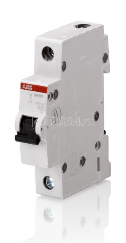 Выключатель автоматический модульный 1п C 16А 4.5кА SH201L ABB 2CDS241001R0164