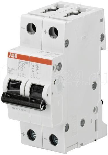 Выключатель автоматический модульный 2п K 15А 10кА S202MT K15UC ABB 2CDS272065R0457 купить в интернет-магазине RS24