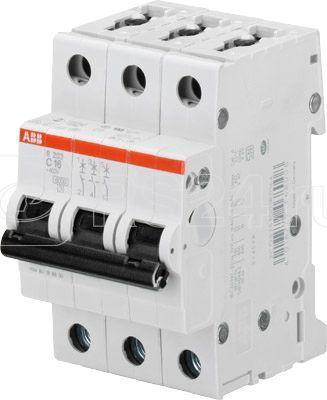 Выключатель автоматический модульный 3п C 1А 10кА S203M C1 ABB 2CDS273001R0014 купить в интернет-магазине RS24