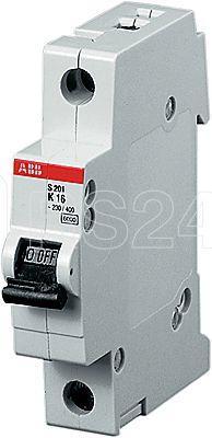 Выключатель автоматический модульный 1п K 63А 10кА S201P K63 ABB 2CDS281001R0607 купить в интернет-магазине RS24