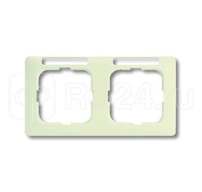 Рамка 2-м Busch-Duro 2000 SI linear горизонт. с полем для надписи сл. кость ABB 2CKA001754A4095 купить в интернет-магазине RS24