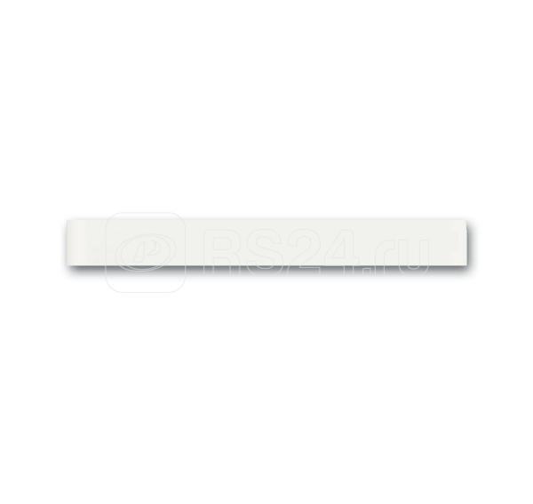 Планка нижняя priOn 6349-811-101-500 бел. глянцевое стекло ABB 2CKA006310A0180 купить в интернет-магазине RS24