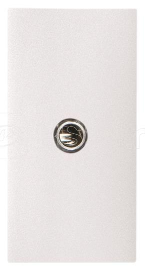 Механизм mini-jack 3.5мм разъема 1мод. Zenit бел. ABB 2CLA215540N1101 купить в интернет-магазине RS24