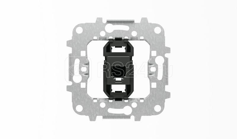 Механизм телекоммуникационной универсальной розетки на 2/ 4 и 6 контактов тип RJ12 SKY/SKY Moon ABB 2CLA811700A1001 купить в интернет-магазине RS24