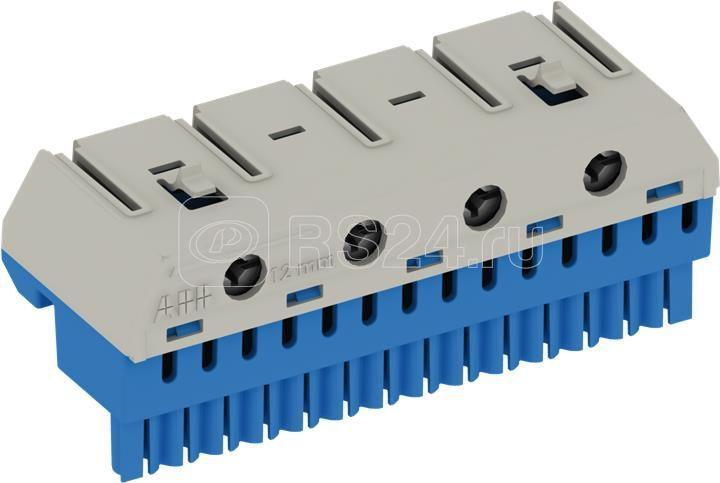 Клеммник N 14х4+4х25кв.мм ZK144B ABB 2CPX062754R9999 купить в интернет-магазине RS24