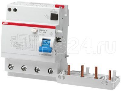 Блок диф. тока 4мод. DDA204 AC-63/0.3 ABB 2CSB204001R3630 купить в интернет-магазине RS24