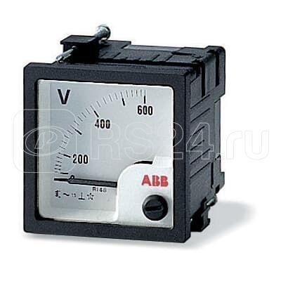Вольтметр переменного тока VLM-1-300/48 прям. вкл. ABB 2CSG111190R4001 купить в интернет-магазине RS24