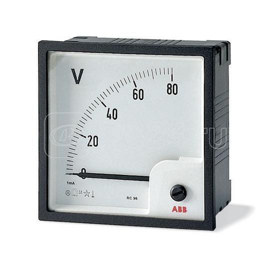 Вольтметр переменного тока VLM-1-200/96 прям. вкл. ABB 2CSG113160R4001 купить в интернет-магазине RS24