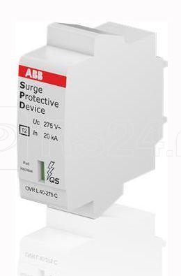 Устройство защиты от импульсных перенапр. (УЗИП) OVR T2 40-275 C QS картридж ABB 2CTB803876R1000 купить в интернет-магазине RS24